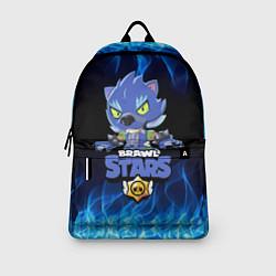 Городской рюкзак с принтом BRAWL STARS LEON ОБОРОТЕНЬ, цвет: 3D, артикул: 10203330705601 — фото 2