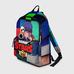 Рюкзак Brawl Stars - Penny цвета 3D-принт — фото 1