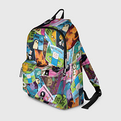 Рюкзак Время Приключений цвета 3D-принт — фото 1