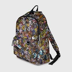 Рюкзак FNaF стикербомбинг цвета 3D — фото 1