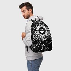 Рюкзак BLACK MIRROR цвета 3D-принт — фото 2