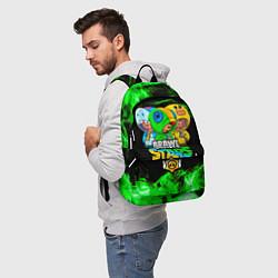 Городской рюкзак с принтом Brawl Stars Leon Trio, цвет: 3D, артикул: 10214695905601 — фото 2