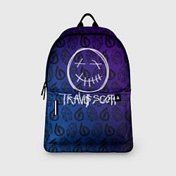 Рюкзак TRAVIS SCOTT цвета 3D-принт — фото 2