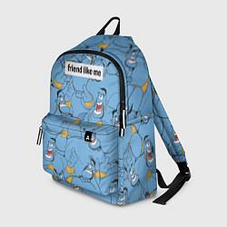 Рюкзак Friend like me цвета 3D-принт — фото 1