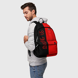 Городской рюкзак с принтом Among Us В кармашке, цвет: 3D, артикул: 10276316505601 — фото 2