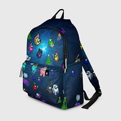 Городской рюкзак с принтом Among US, цвет: 3D, артикул: 10277958305601 — фото 1