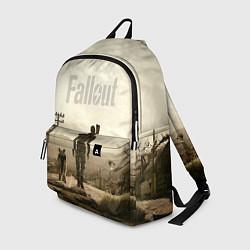Рюкзак Fallout City цвета 3D-принт — фото 1