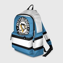 Рюкзак Pittsburgh Penguins: White цвета 3D-принт — фото 1