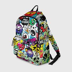 Рюкзак Bombing цвета 3D — фото 1