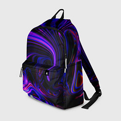 Рюкзак Цветные разводы цвета 3D — фото 1