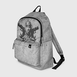 Рюкзак 2Pac Guns цвета 3D — фото 1