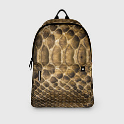 Рюкзак Змеиная кожа цвета 3D-принт — фото 2