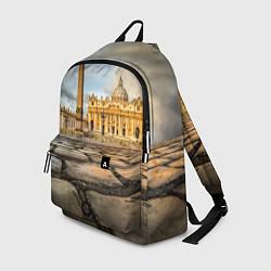 Рюкзак Площадь святого Петра цвета 3D-принт — фото 1