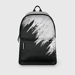 Рюкзак Черно-белый разрыв цвета 3D — фото 2