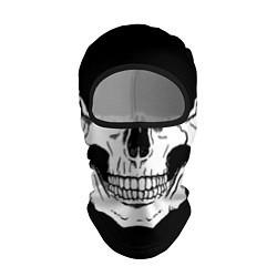 Балаклава Череп цвета 3D-черный — фото 1