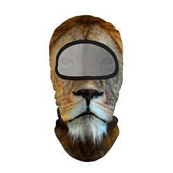 Балаклава Гордый лев цвета 3D-черный — фото 1