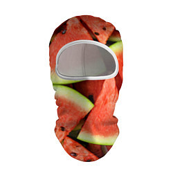 Балаклава Дольки арбуза цвета 3D-белый — фото 1