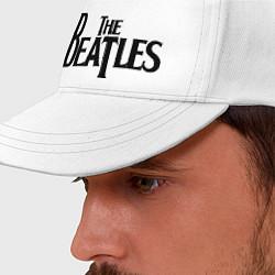 Бейсболка The Beatles цвета белый — фото 2
