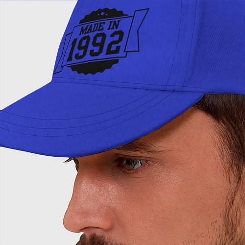 Бейсболка Made in 1992 / Синий – фото 2