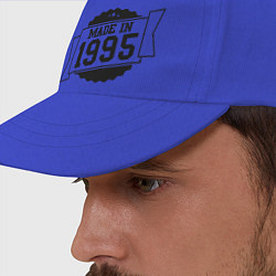 Бейсболка Made in 1995 цвета синий — фото 2