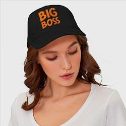 Бейсболка Big Boss цвета черный — фото 2