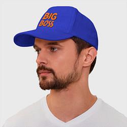Бейсболка Big Boss цвета синий — фото 1