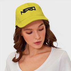 Бейсболка Nero цвета желтый — фото 2