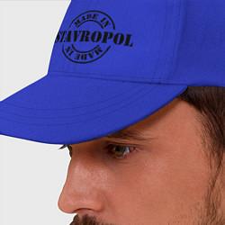 Бейсболка Made in Stavropol цвета синий — фото 2