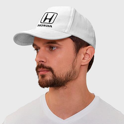 Бейсболка Honda logo / Белый – фото 1