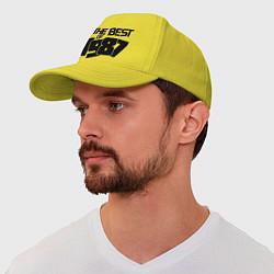 Бейсболка The best of 1987 цвета желтый — фото 1