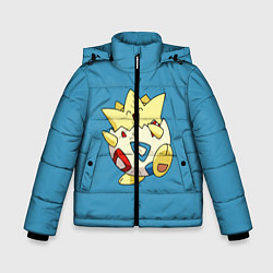 Куртка зимняя для мальчика Тогепи цвета 3D-черный — фото 1