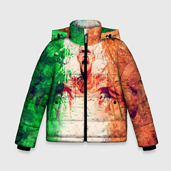 Куртка зимняя для мальчика Conor McGregor: Ireland цвета 3D-черный — фото 1