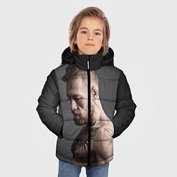 Детская зимняя куртка для мальчика с принтом Конор Макгрегор, цвет: 3D-черный, артикул: 10102378706063 — фото 2
