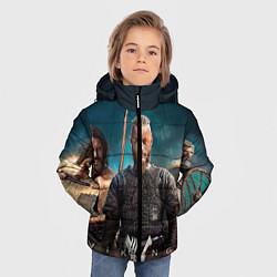 Куртка зимняя для мальчика 3 викинга цвета 3D-черный — фото 2