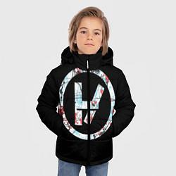 Куртка зимняя для мальчика 21 Pilots: Symbol цвета 3D-черный — фото 2