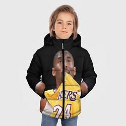 Куртка зимняя для мальчика Kobe Bryant цвета 3D-черный — фото 2