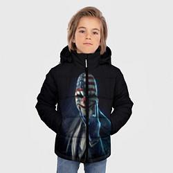 Куртка зимняя для мальчика Payday Rock цвета 3D-черный — фото 2
