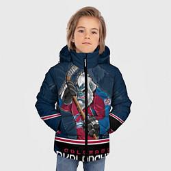 Куртка зимняя для мальчика Colorado Avalanche цвета 3D-черный — фото 2