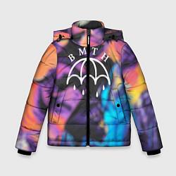 Куртка зимняя для мальчика BMTH Rain цвета 3D-черный — фото 1