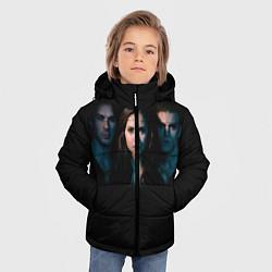 Куртка зимняя для мальчика Vampire Trio цвета 3D-черный — фото 2