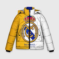 Куртка зимняя для мальчика Real Madrid CF цвета 3D-черный — фото 1