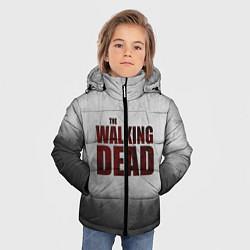 Куртка зимняя для мальчика The Walking Dead цвета 3D-черный — фото 2