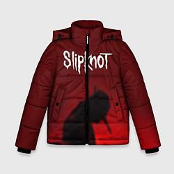 Куртка зимняя для мальчика Slipknot Shadows цвета 3D-черный — фото 1