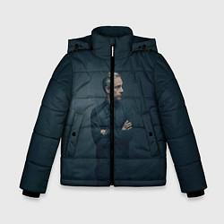 Куртка зимняя для мальчика Доктор в рубашке цвета 3D-черный — фото 1