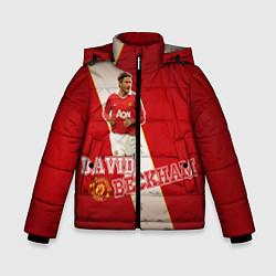 Куртка зимняя для мальчика David Backham цвета 3D-черный — фото 1