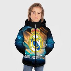 Куртка зимняя для мальчика Real Madrid цвета 3D-черный — фото 2