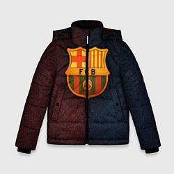 Куртка зимняя для мальчика Barcelona8 цвета 3D-черный — фото 1