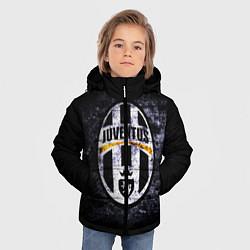 Куртка зимняя для мальчика Juventus: shadows цвета 3D-черный — фото 2