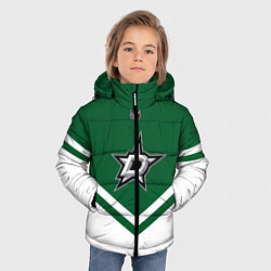 Куртка зимняя для мальчика NHL: Dallas Stars цвета 3D-черный — фото 2