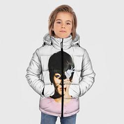 Куртка зимняя для мальчика Jungkook цвета 3D-черный — фото 2